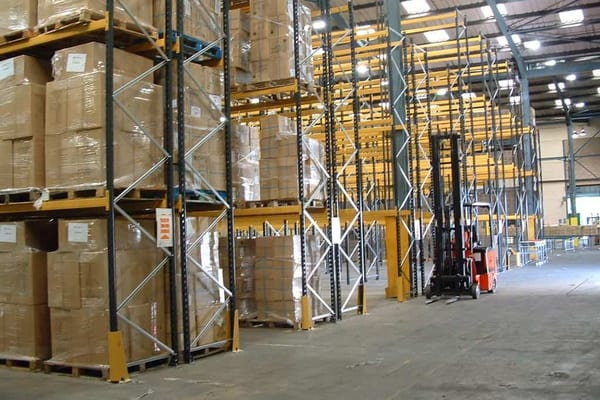 double deep pallet racking from elev8 fork trucks 1