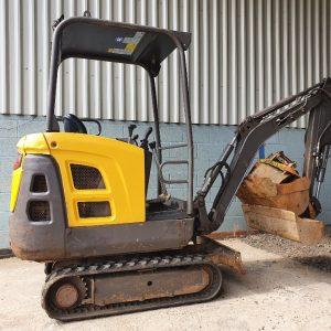 2013 Volvo EC15C 1.5 Ton Mini Excavator